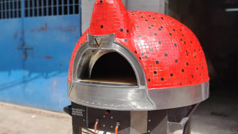 Gas with Woodfire Ovens